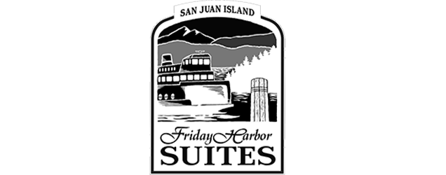 Friday Harbor Suites  Friday Harbor - Logo inverted